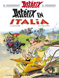 Astérix en Italia. Las aventuras de Astérix el Galo - Tomo 37