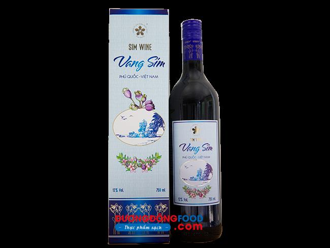 Rượu Vang Sim Phú Quốc