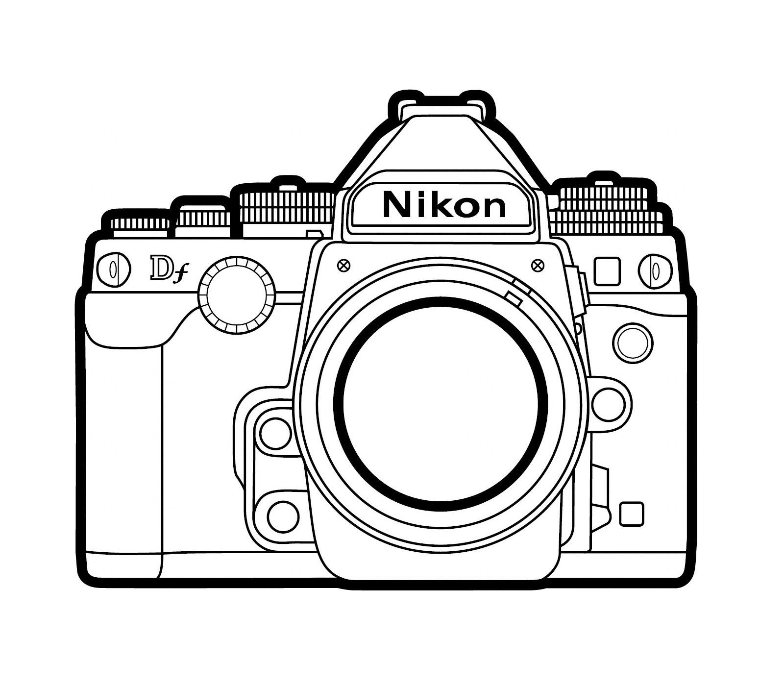 photoblogue le coin des enfants un appareil photo colorier. Black Bedroom Furniture Sets. Home Design Ideas