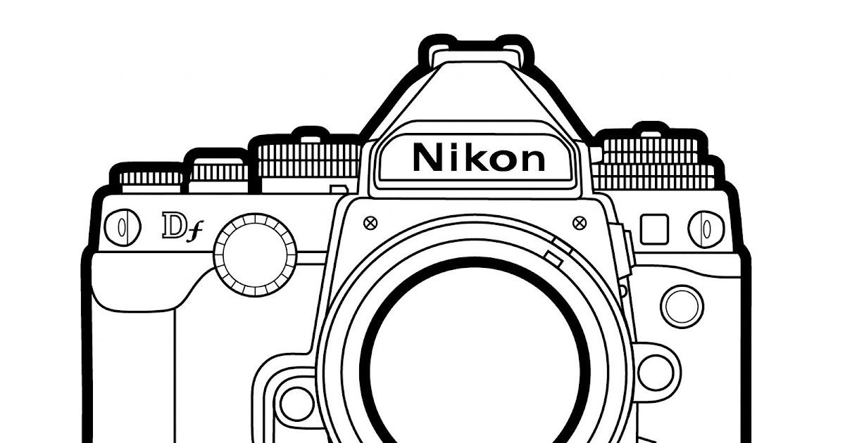 PHOTOBLOGUE: Le coin des enfants: un appareil photo à colorier