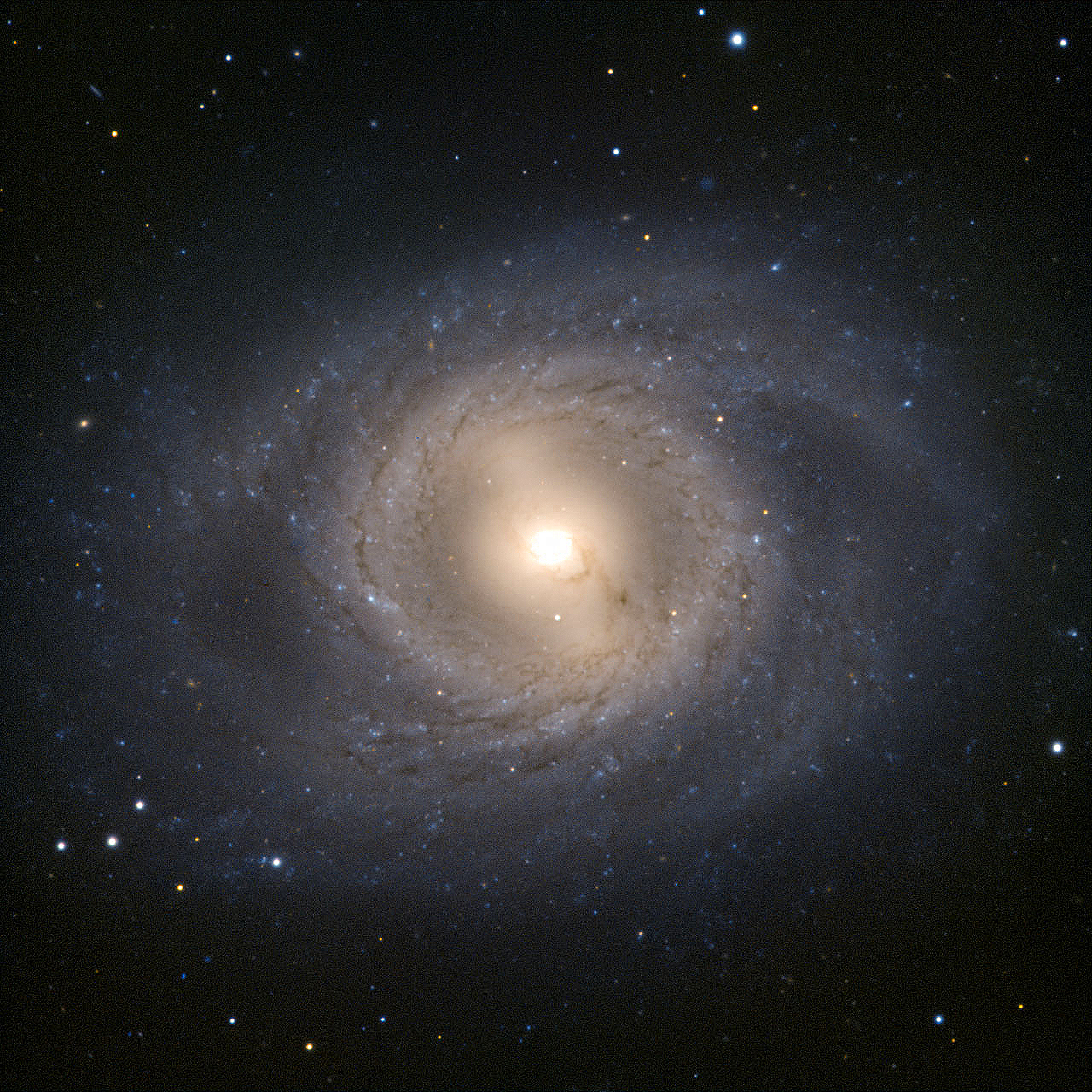 JeanBaptiste Faure Barred Spiral Galaxy M95 as seen by
