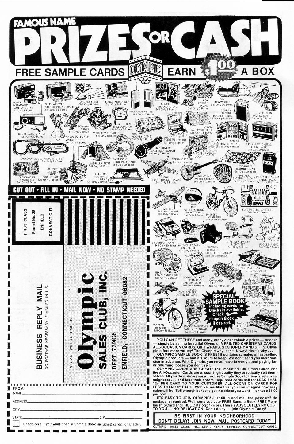Read online Secret Origins (1973) comic -  Issue #5 - 2