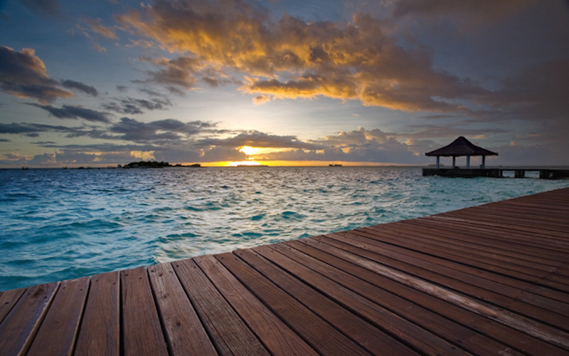 8. The Maldives - 20 of The Best Places To Watch The Sunset