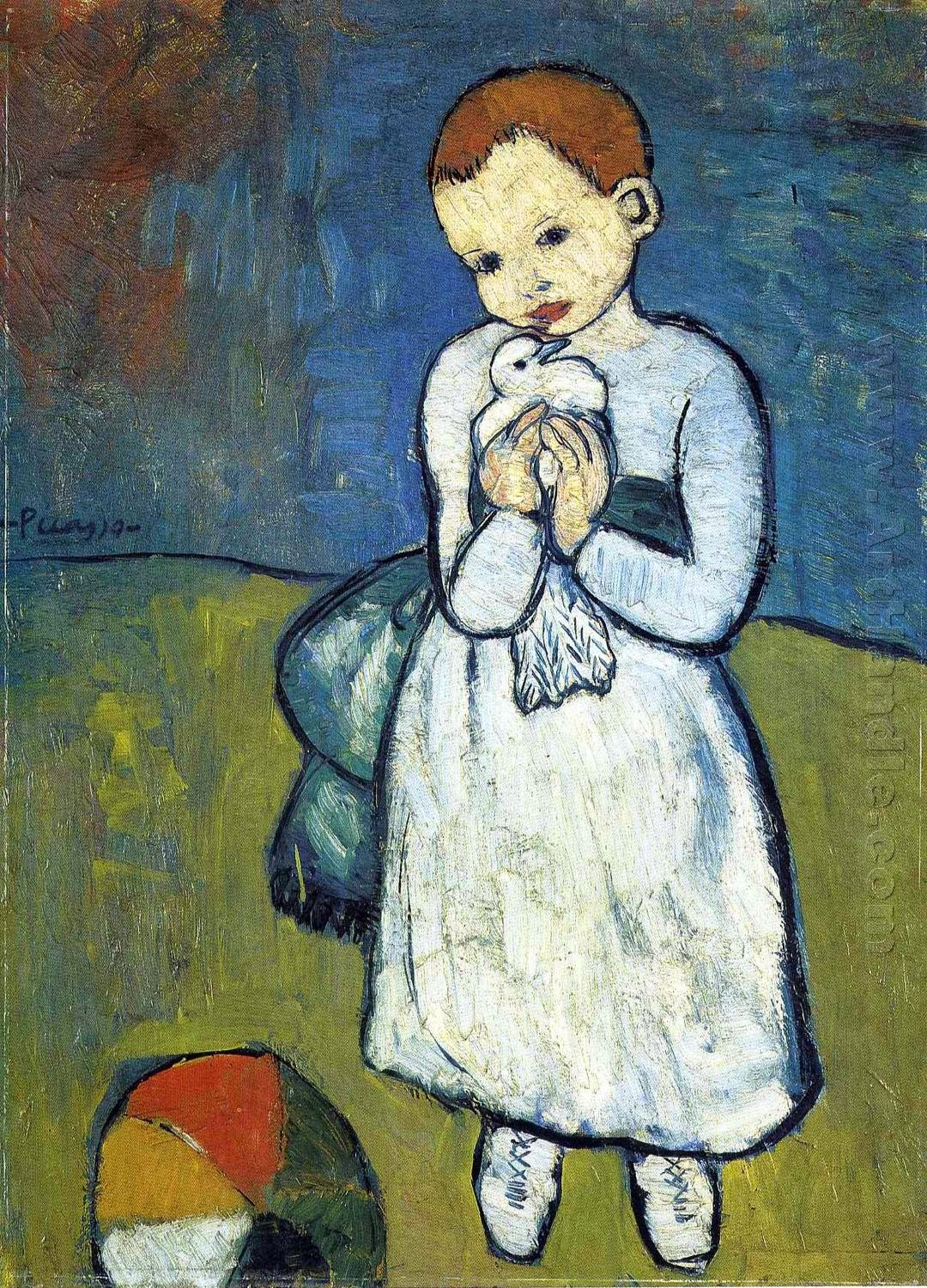Pablo Picasso Child With a Dove