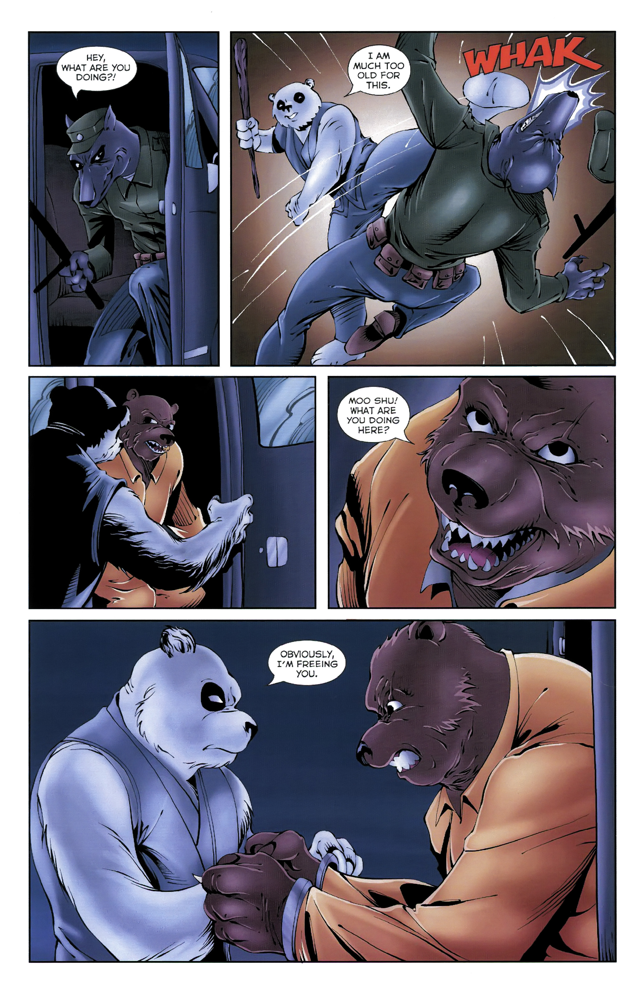 Read online Dead Pooh comic -  Issue #3 - 11