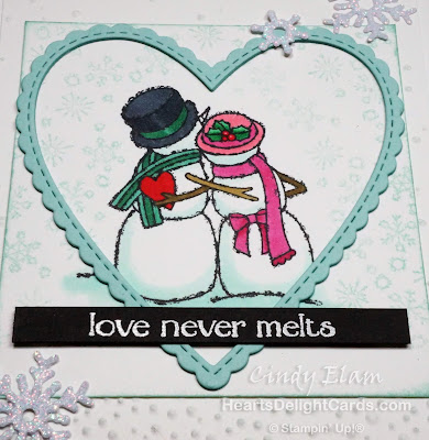Heart's Delight Cards, Spirited Snowmen, 2019 Holiday Retiring List, Stampin' Up!
