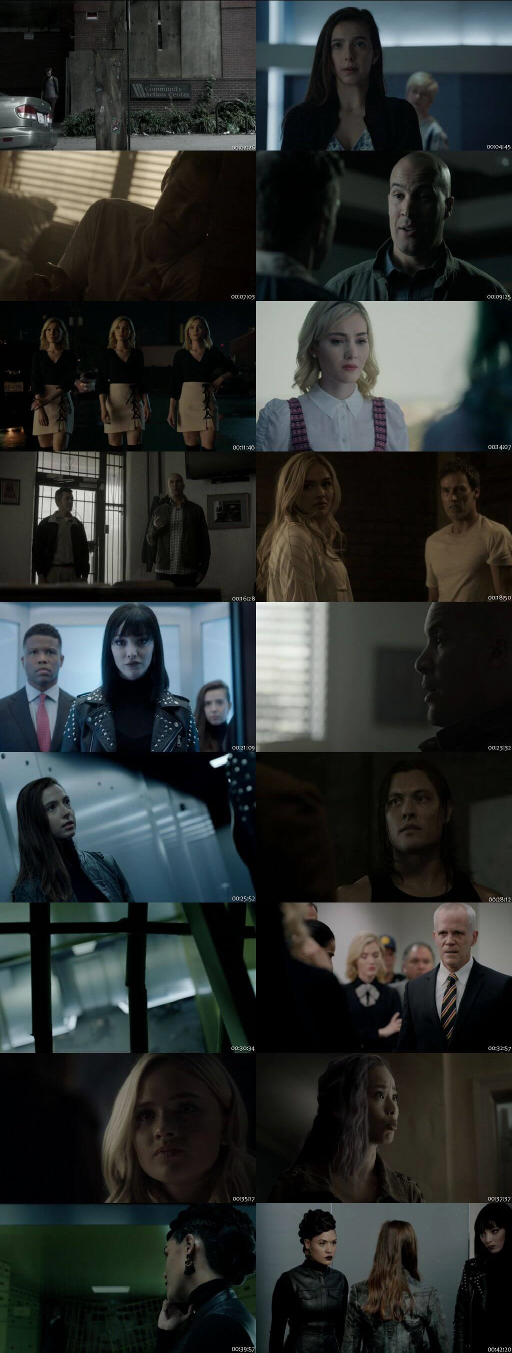 Screenshots Of English Show The Gifted Season 02 Episode 07 2018 WEB-DL 720P 300MB