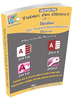 ms access table pdf