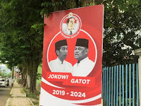 Spanduk Jokowi-Gatot Bermunculan di Bondowoso