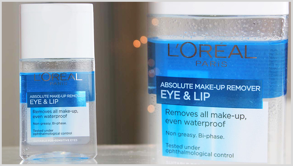 L'Oreal Dermo Expertise Lip and Eye Make-Up Remover