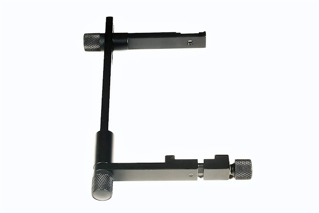 Hejnar FB87B Flash Bracket assembled lower clamp reversed