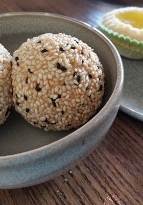 Sesame balls at Wu Chow