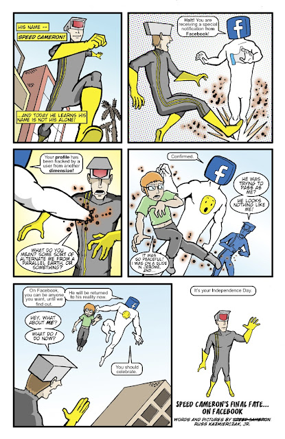 Facebook name change Speed Cameron Amazing Arizona Comics social media Ocho Mengel