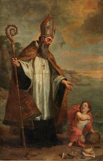 Piedad de Eberhardsklausen (Alemania) / San Agustín, S. XVIII(R.M. SXVIII-O372)(MAM) P03475