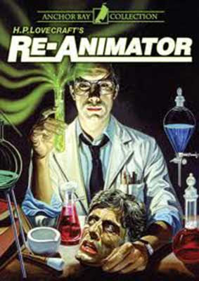 DVD de Re-Animator 1985