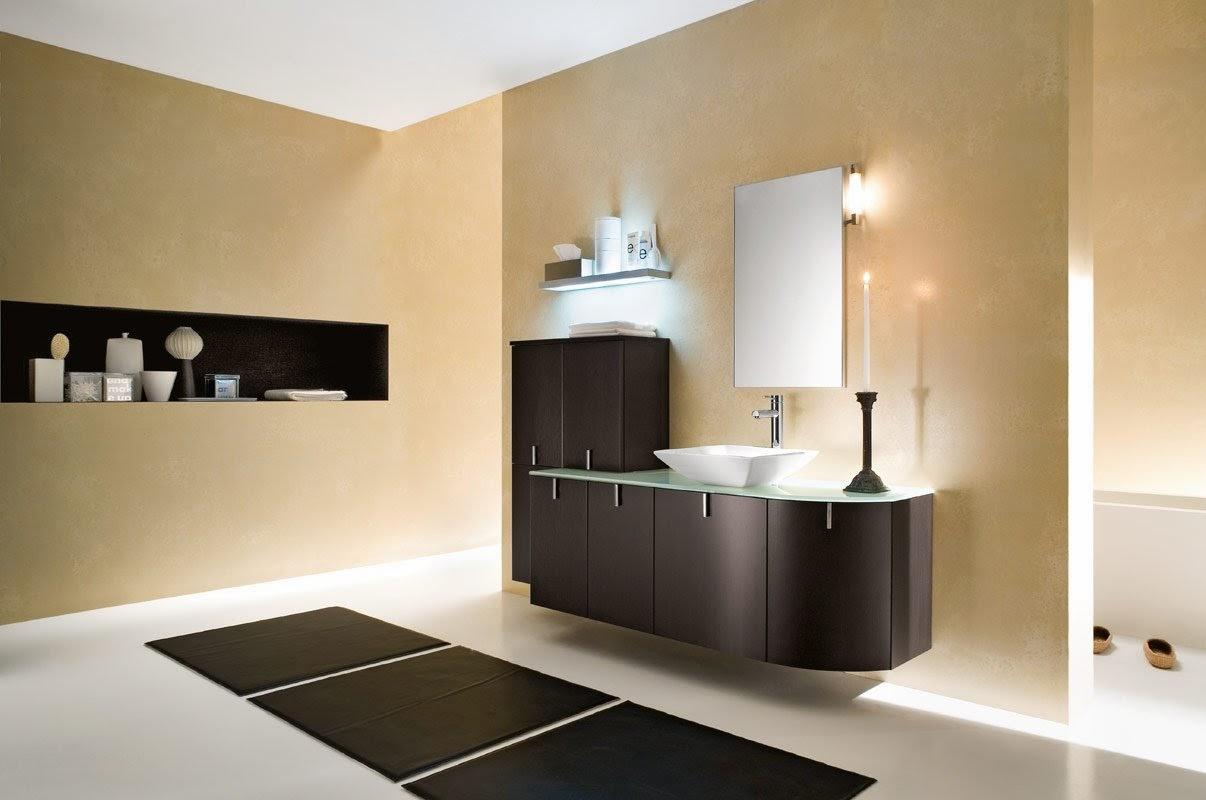 dekorasi bajet bilik air