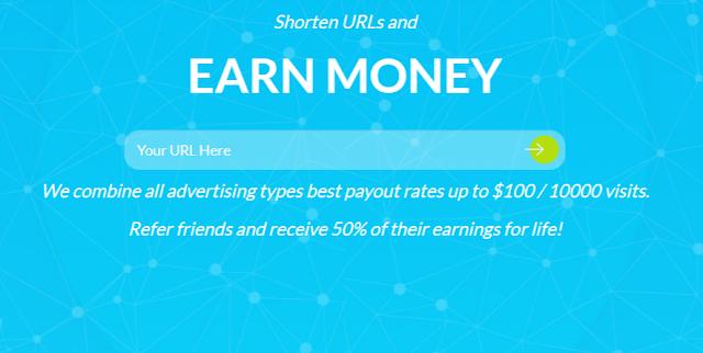 Make money online by Link shortener |make online money|