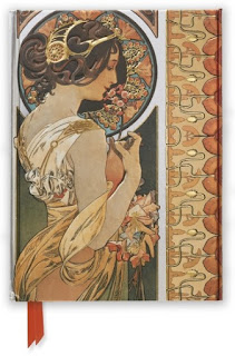 Flame Tree Notebooks Mucha