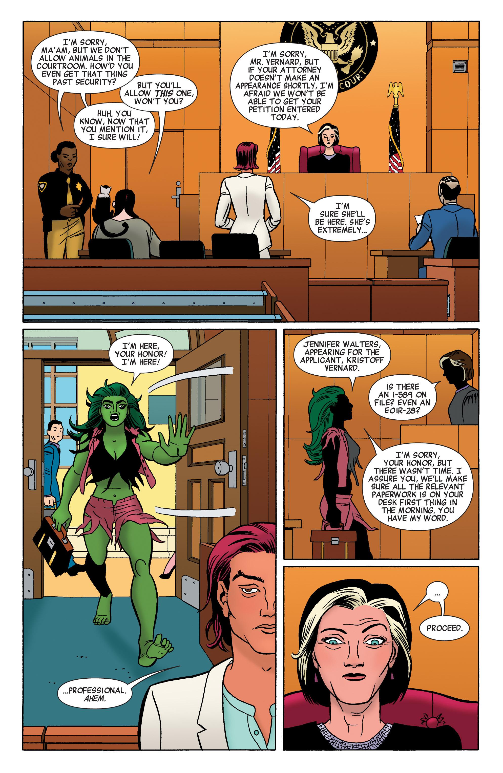 Read online She-Hulk (2014) comic -  Issue #3 - 13