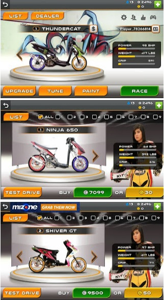 Download Drag Racing Bike Edition Mod Indonesia Arif Rahmat