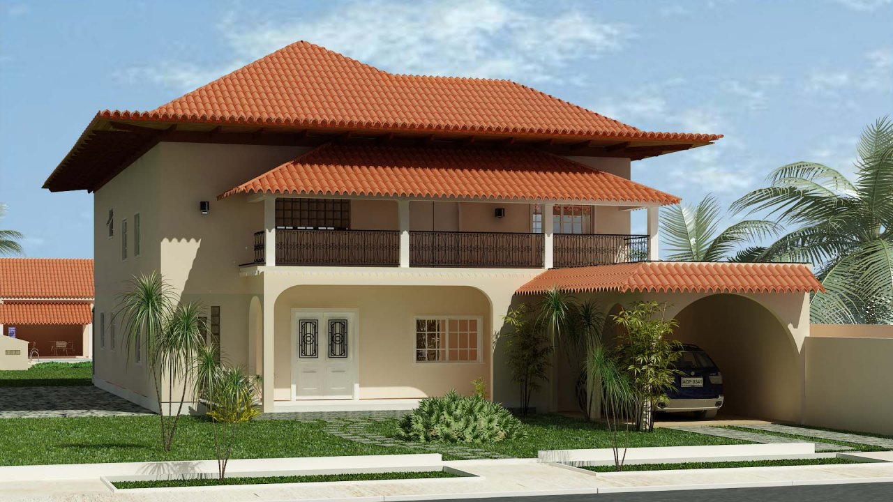 house plant modern homes designs rio de janeiro brazil. Black Bedroom Furniture Sets. Home Design Ideas