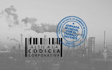 CSI - ITUC · Jornada Mundial por el Trabajo Decente · Aumento Global de Salario Minimo