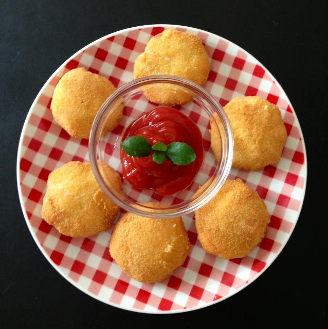 Nuggets Que Son: Cocina Rápido Y Con Gusto.: Nuggets De Pollo Con Queso