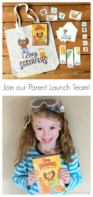 If you are the person your friends go to for recommendations on books and/or toys, if you're active in parenting groups, if you're active on social media -- basically if you're excited to share things you love with other parents -- we'd love to have you apply to be a part of the Zoey and Sassafras Parent Launch Team!