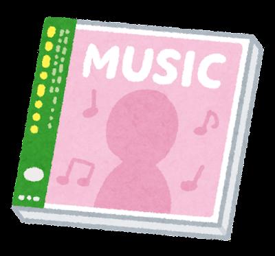 音楽CDのイラスト