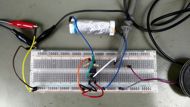 Capacitor Caseiro