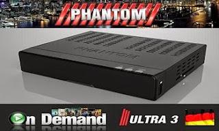 Atualizacao do receptor Phantom Premium HD V
