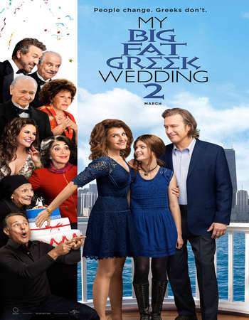 My Big Fat Greek Wedding 2 2016 English 700MB HDTS
