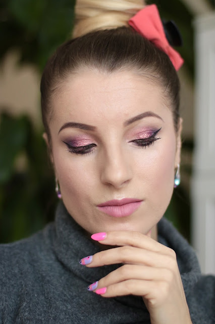 Fiolet z Migoczącą Bordo-Śliwką - Inglot Makeup