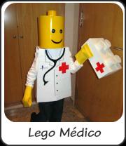 Disfraz de Lego médico