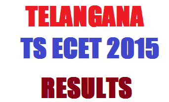 TS ECET Results 2016 Released