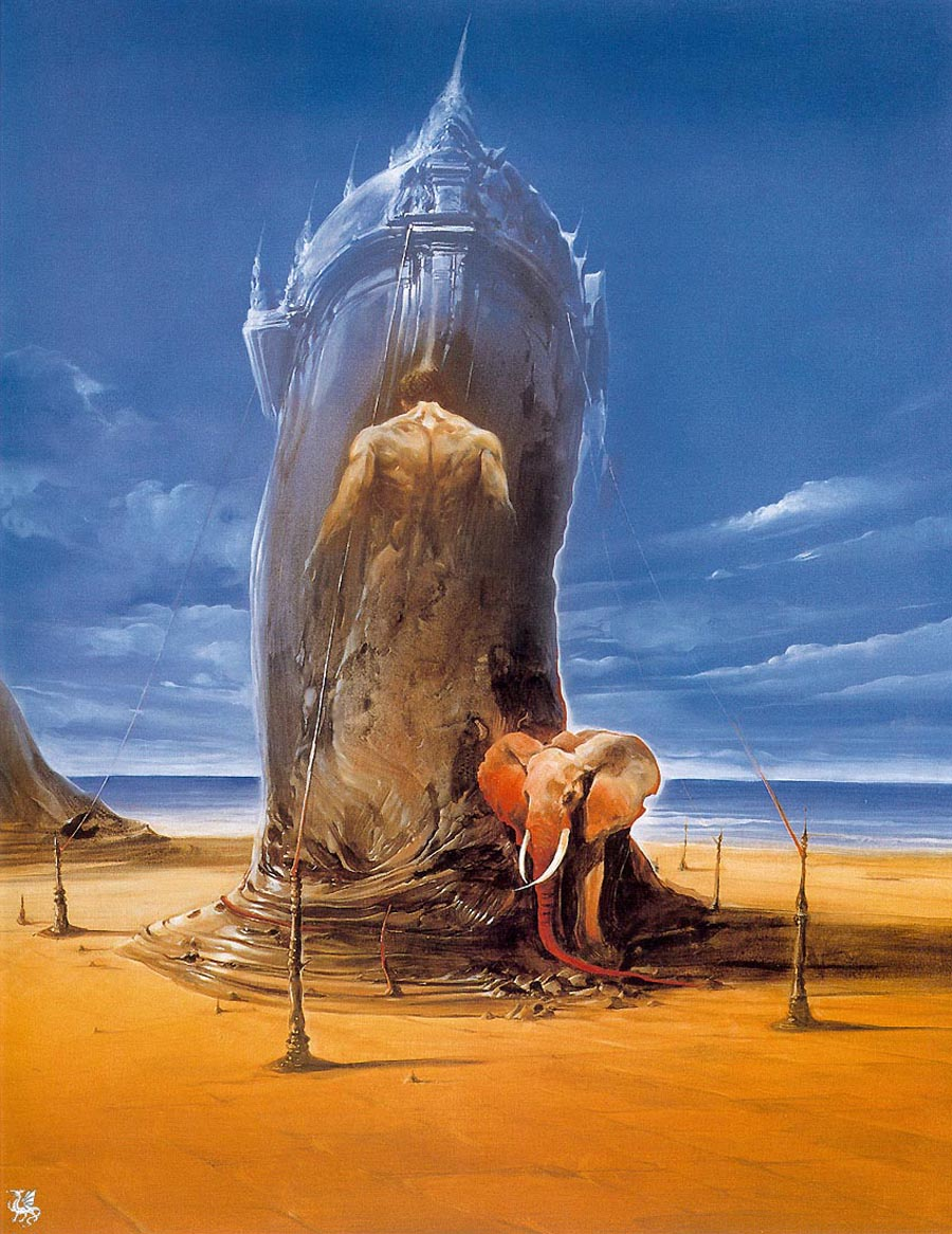 Surrealism And Visionary Art: Wojtek Siudmak