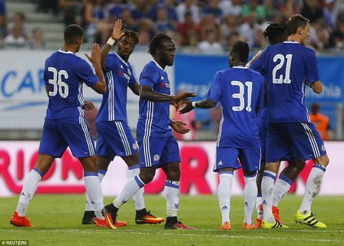 Chelsea đè bẹp đối thủ vô danh Atus Ferlach với kết quả 8-0