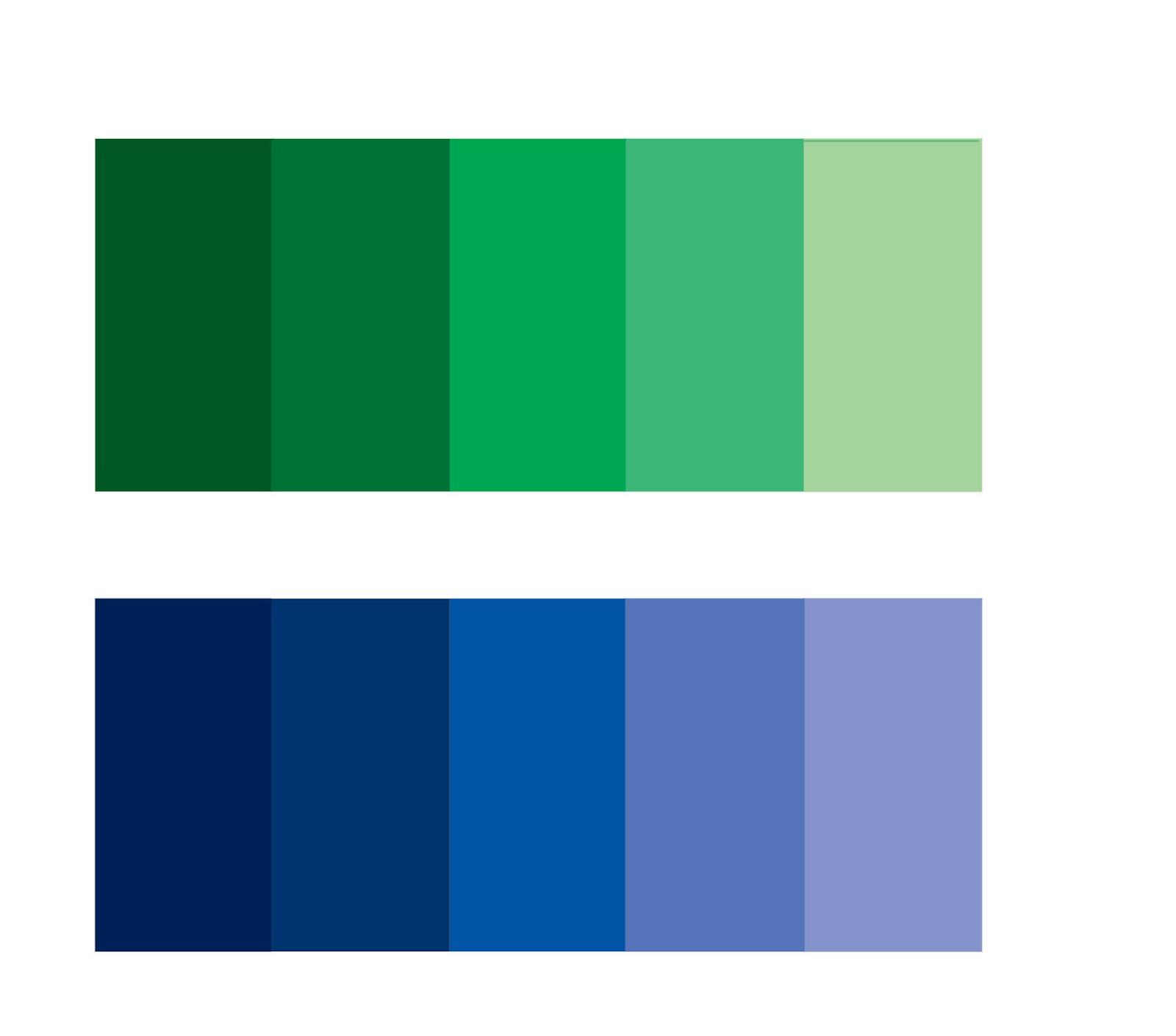 Intinya Kombinasi Warna Dengan Senada Misalnya Biru Tua Dipadukan Yang Lebih Terang