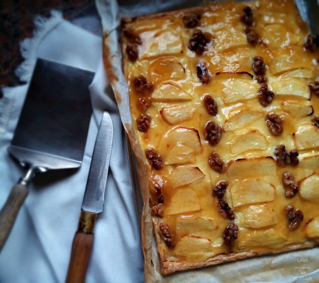 4 postres veganos fáciles y rápidos, tarta de manzana