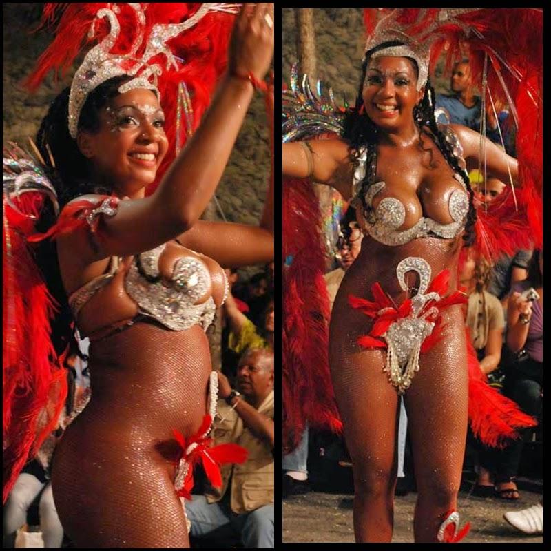 Carnaval. Desfile de Llamadas. Montevideo. Yambo Kenia.Yessy López.2010.