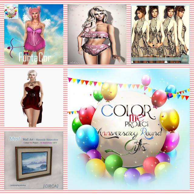 Gifty na Color Me Project cześć II