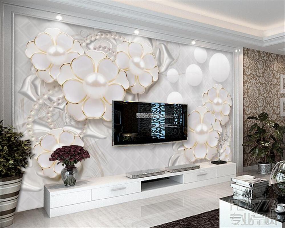 28 Fantastic 3D Wallpaper Scenery For Living Room TV Background ...