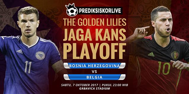 PREDIKSI BOLA: Bosnia Herzegovina vs Belgia