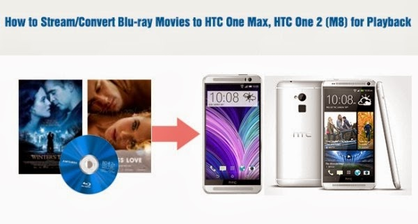 View Blu-ray Movies on HTC One Max, HTC One 2 (M8)