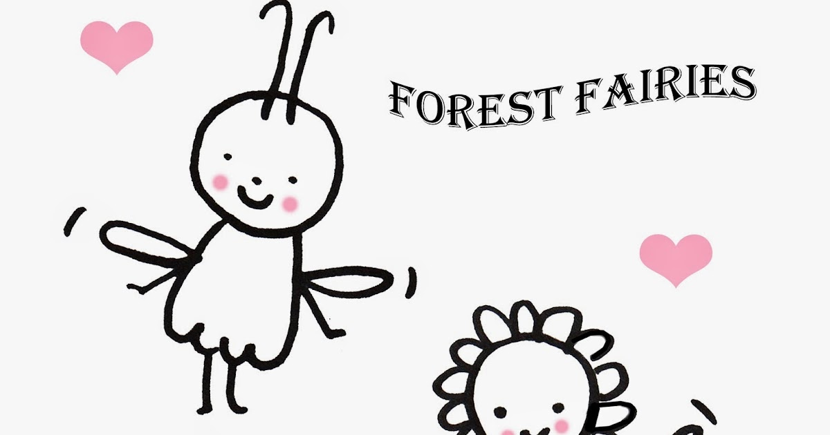 Cupcakes + Owls: Forest Fairies Coloring Page
