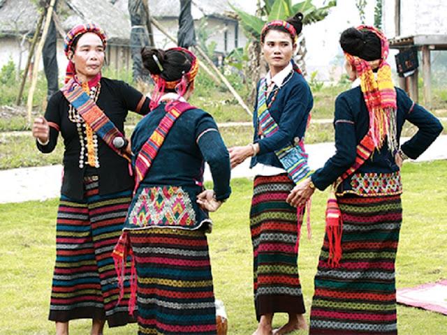 Vietnamese Ethnic Traditional Female Costumes 9