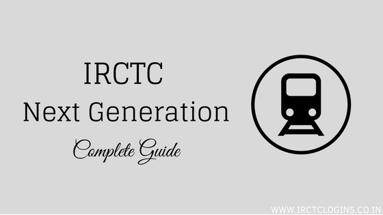 IRCTC Next Generation Cover