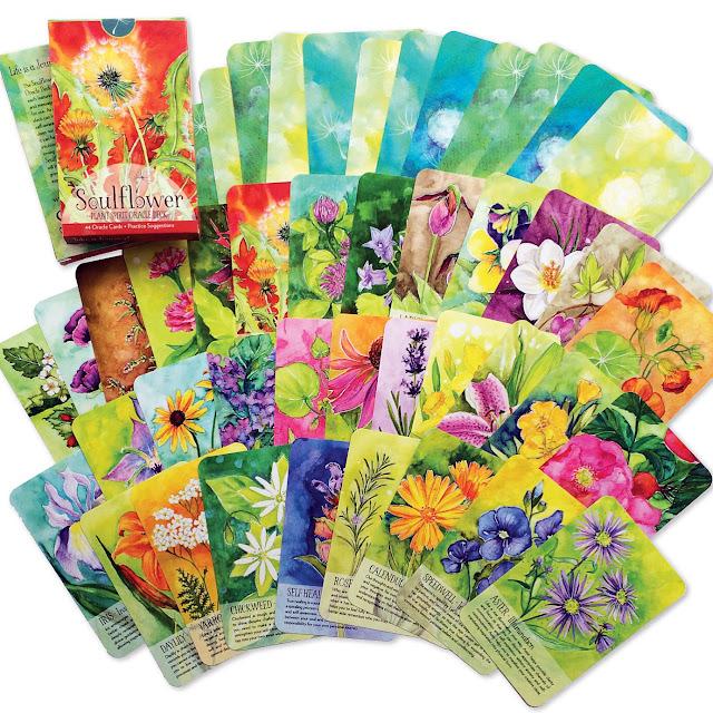Soulflower Plant Spirit Oracle Deck, Artist, Gardener, Lisa Estabrook, Artist Interview, My Giant Strawberry