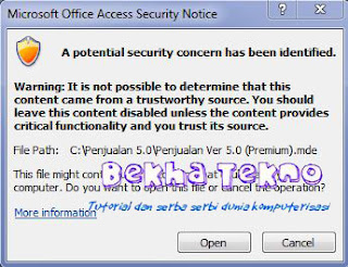 Microsoft Office Acces Security