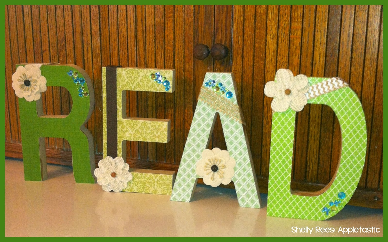 mod podge pictures on wood letters mod podge wooden letters for your classroom diy 23676
